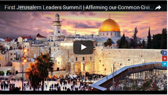 First Jerusalem Leaders Summit