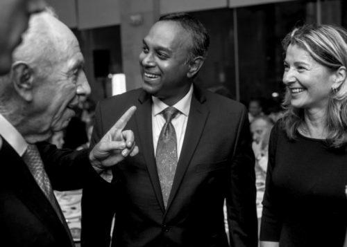 Natasha Srdoc_Joel Anand Samy_ Shimon Peres_President of Israel_Jerusalem Leaders Summit