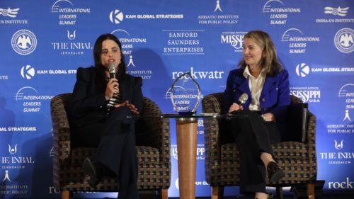 Ayelet_Shaked_Justice Minister_Israel_3_Natasha Srdoc_Beth Saunders_International Leaders Summit_Jerusalem Leaders Summit