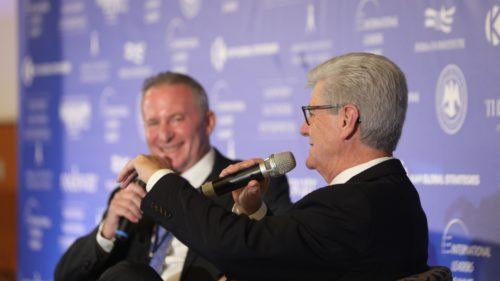 Governor Bryant_Steve Linde_Jerusalem Leaders Summit